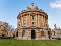 The library at the university of Oxford, Bodleian Library. royalty free stock images