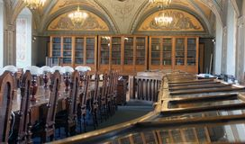 Library of the University of Vilnius. Royalty Free Stock Image