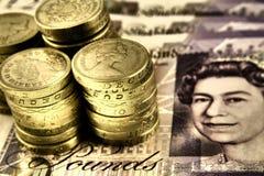 Libras britânicas Imagens de Stock Royalty Free