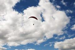 Libre-vuelo en Paraglide Fotografía de archivo libre de regalías