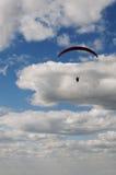 Libre-vuelo en Paraglide Fotos de archivo