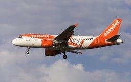 Librea de EasyJet Airbus A319 Venezia Fotografía de archivo libre de regalías