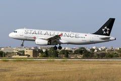 Librea especial Turkish Airlines A320 Fotos de archivo libres de regalías