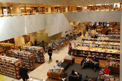 Librería foto de archivo libre de regalías