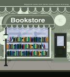 Librería ilustración del vector