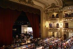 Librería del EL Ateneo foto de archivo libre de regalías