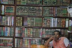 Librería en Egipto Imágenes de archivo libres de regalías