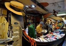 Libreria Acqua Alta, Venezia Immagine Stock