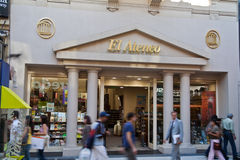 Libreria Buenos Aires di EL Ateneo Fotografia Stock