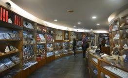 Libreria dei musei del Vaticano fotografie stock