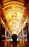 Libreria del palazzo di Fontainebleau fotografie stock libere da diritti