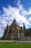 Libreria del Parlamento in ottawa Immagine Stock Libera da Diritti