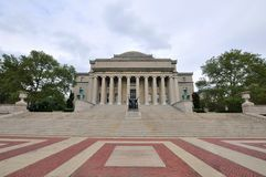 Libreria dell'Università di Columbia a New York City Fotografia Stock Libera da Diritti
