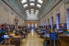 Libreria dell'Università di Harvard Fotografie Stock Libere da Diritti