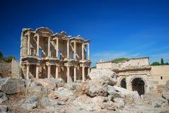 Libreria di Ephesus Immagine Stock Libera da Diritti