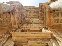 Libreria di Ephesus fotografia stock