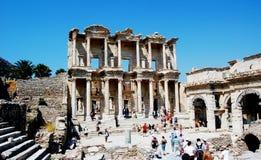 Libreria di Ephesus Celsius fotografia stock libera da diritti