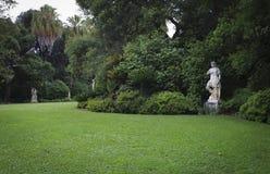 Libreria di Huntington delle statue del giardino Immagini Stock