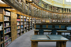 Libreria di museo britannica Fotografie Stock Libere da Diritti