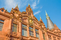 Libreria di università di Heidelberg Fotografie Stock Libere da Diritti