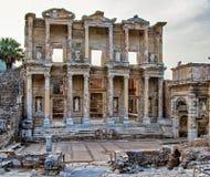 Libreria a Ephesus Fotografie Stock