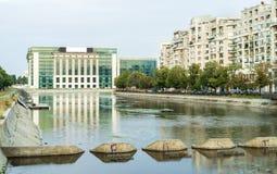 Libreria nazionale di Bucarest fotografie stock libere da diritti