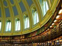 Libreria ovale Immagini Stock