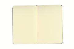 Libreta con las paginaciones en blanco Imagen de archivo libre de regalías