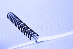 Libreta espiral Fotografía de archivo libre de regalías