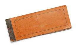 Libretto arancio Fotografie Stock Libere da Diritti