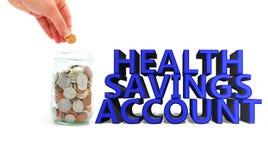 Libretto di risparmio di salute coinjar Immagini Stock