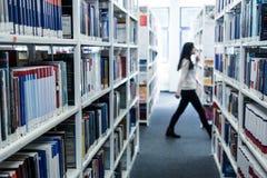 Libri ad una libreria di università Immagine Stock Libera da Diritti