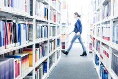Libri ad una libreria di università Fotografie Stock