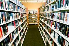 Libri alla libreria Fotografie Stock Libere da Diritti