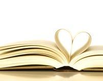 Libri amorosi Immagine Stock