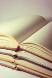 Libri aperti Fotografia Stock