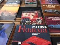 Libri automobilistici Fotografia Stock