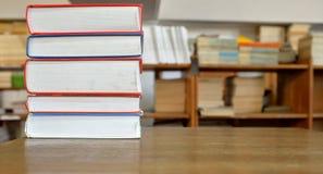 Libri in biblioteca Fotografia Stock Libera da Diritti