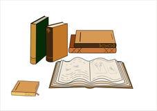 Libri, biblioteca, pagine, segnalibro Fotografia Stock