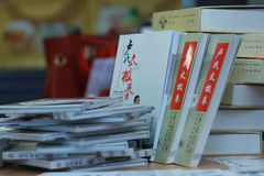 Libri cinesi Immagine Stock