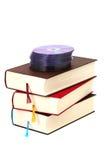 Libri con DVDs Immagini Stock Libere da Diritti