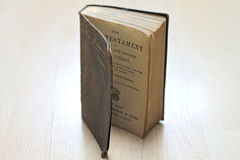 Libri consumati polverosi Immagine Stock Libera da Diritti
