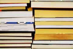 Libri Crudo dei libri e dei taccuini Immagine Stock Libera da Diritti