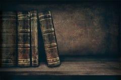 Libri dell'annata Fotografie Stock