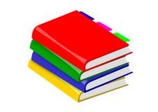 Libri della pila Fotografia Stock