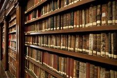 Libri delle biblioteche immagini stock