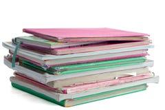 Libri di banco Fotografia Stock
