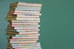 Libri di banco dei bambini Fotografia Stock