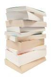 Libri di casella impilati Fotografia Stock