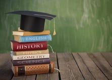 Libri di classe pronti per la scuola fotografie stock libere da diritti